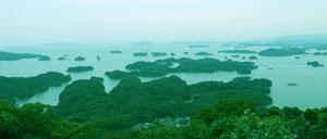 九十九島の美しい風景